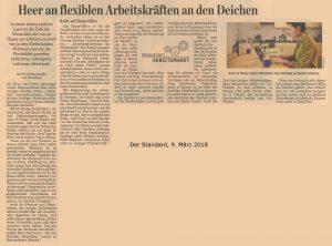 2018-03-09 Standard - Heer an flexiblen Arbeitskräften an den Deichen